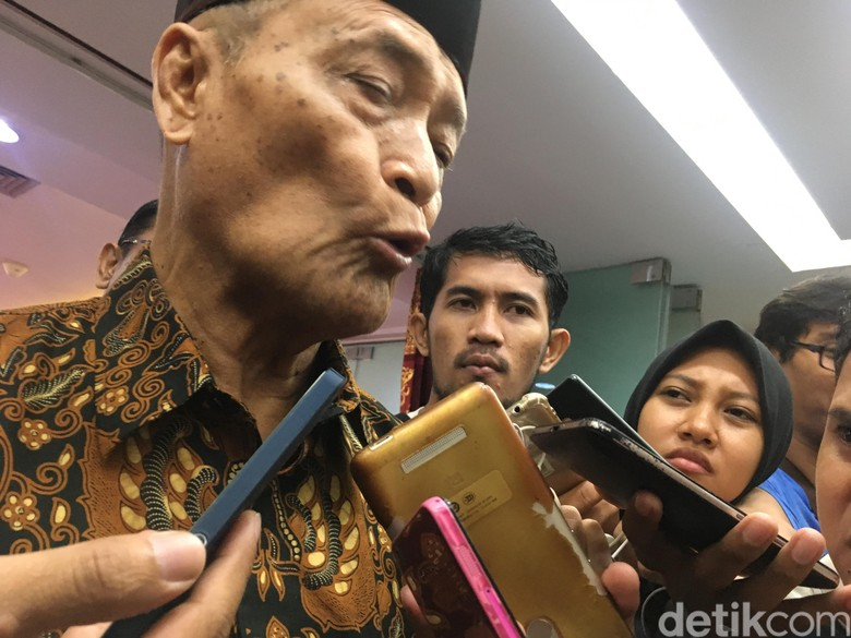 Kata Buya Syafii soal Pidato Indonesia Bubar Tahun 2030