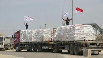 Beras Indonesia Tiba di Gaza, Bendera Merah Putih Berkibar