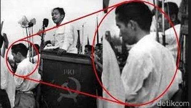 Jengkelnya Jokowi Kena Hoax Foto Bareng DN Aidit