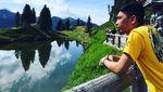 Foto: Gaya Tersangka Rp 1,8 Triliun Bos Abu Tours Saat Touring Moge