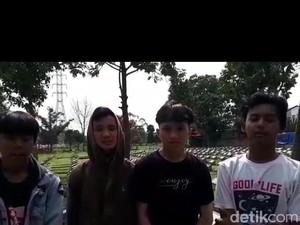 Ini Pengakuan Pemeran Video Parkour Lompati Batu Nisan di Bandung