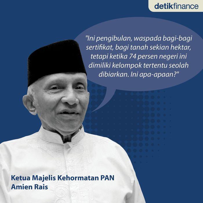 Ini kata Amien Rais Saat menjadi pembicara dalam diskusi Bandung Informal Meeting yang digelar di Hotel Savoy Homman, Jalan Asia Afrika, Bandung, Minggu (18/3/2018). Foto: Tim Infografis: Nadia Permatasari