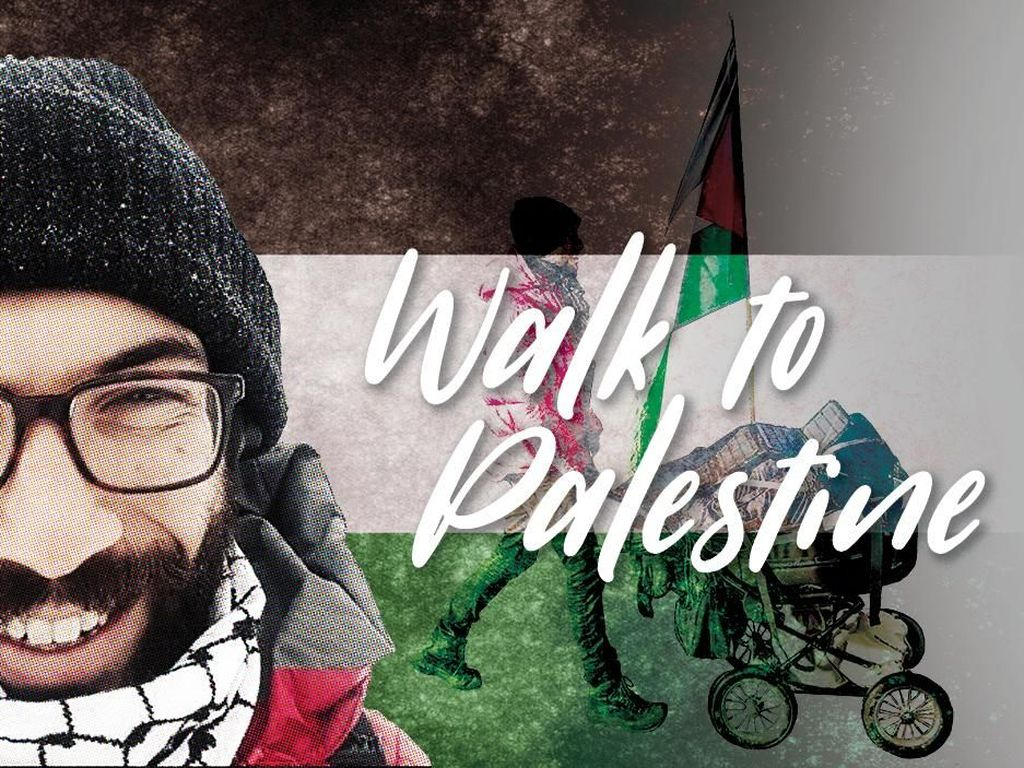 Aksi Walk To Palestine