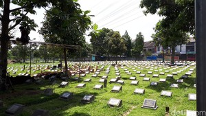 Ini Lokasi Video Viral Remaja di Bandung Parkour Lompati Batu Nisan