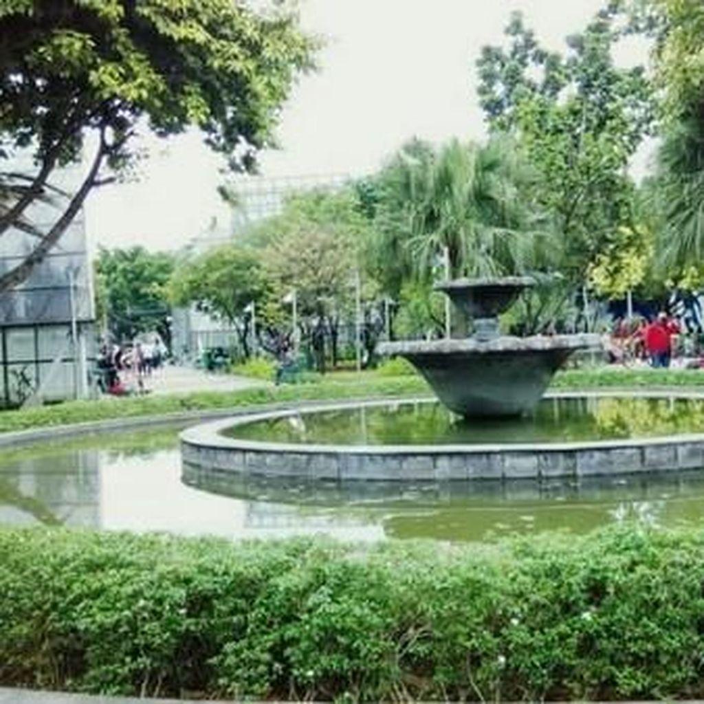 Taman Kota jadi Obat Langka Mencari Udara Sehat di Jakarta
