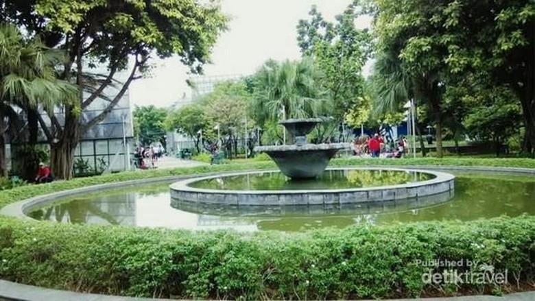 Taman Menteng di Jakarta Pusat (MSepthiana/dTraveler)