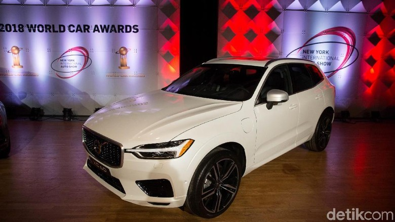 Volvo XC60 jadi mobil terbaik dunia (Foto: Kevin Hagen for The World Car Awards)