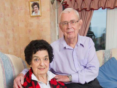 George dan Irene, mantan pacar yang kembali bersama dan menikah di usia 89