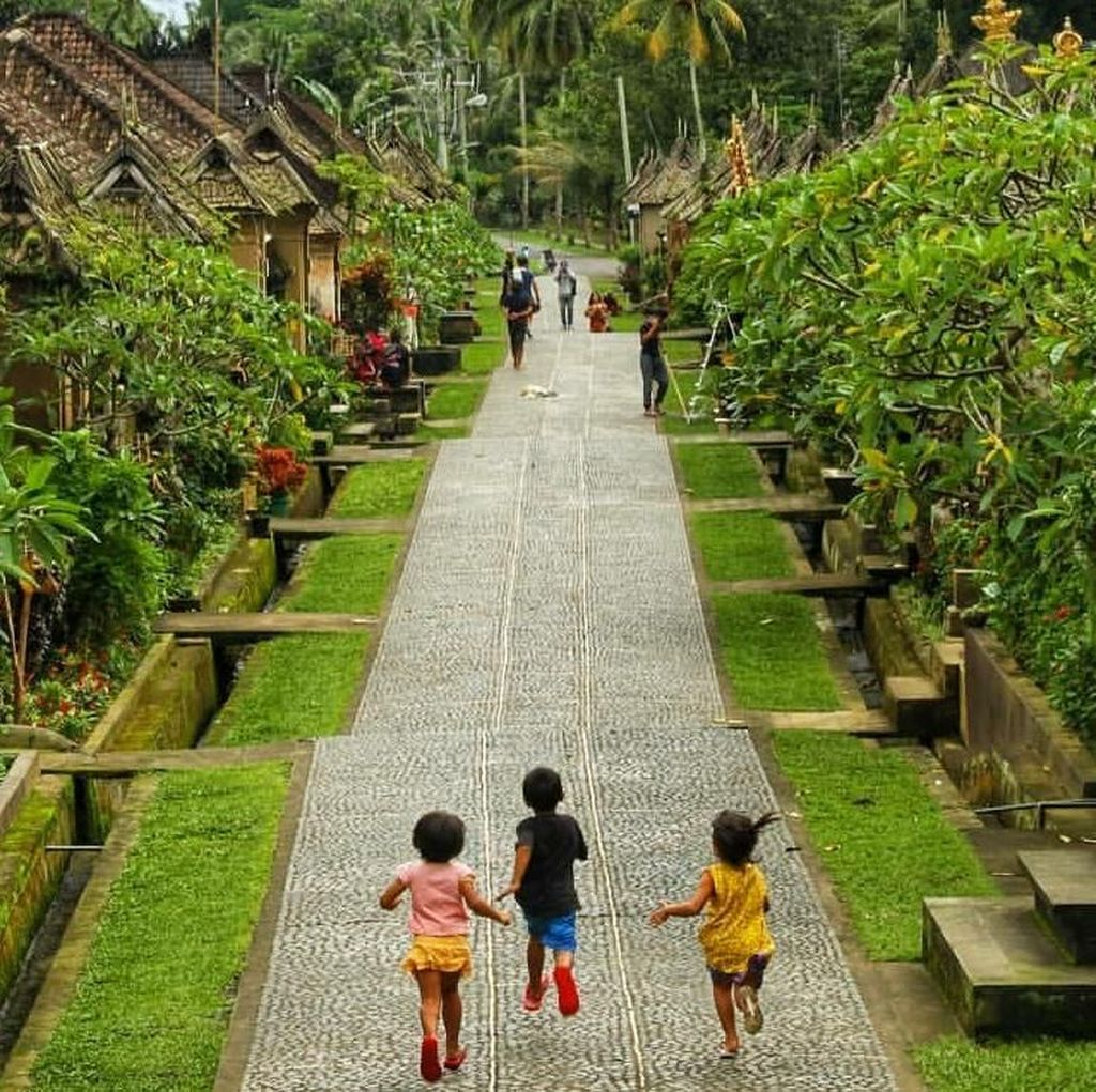 Belajar Jadi Desa Berdaya di Penglipuran Bali