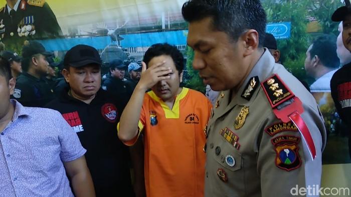 Iwan mengaku hanya sekali menyetrum, tapi polisi tak percaya itu (Foto: Eko Sujarwo)