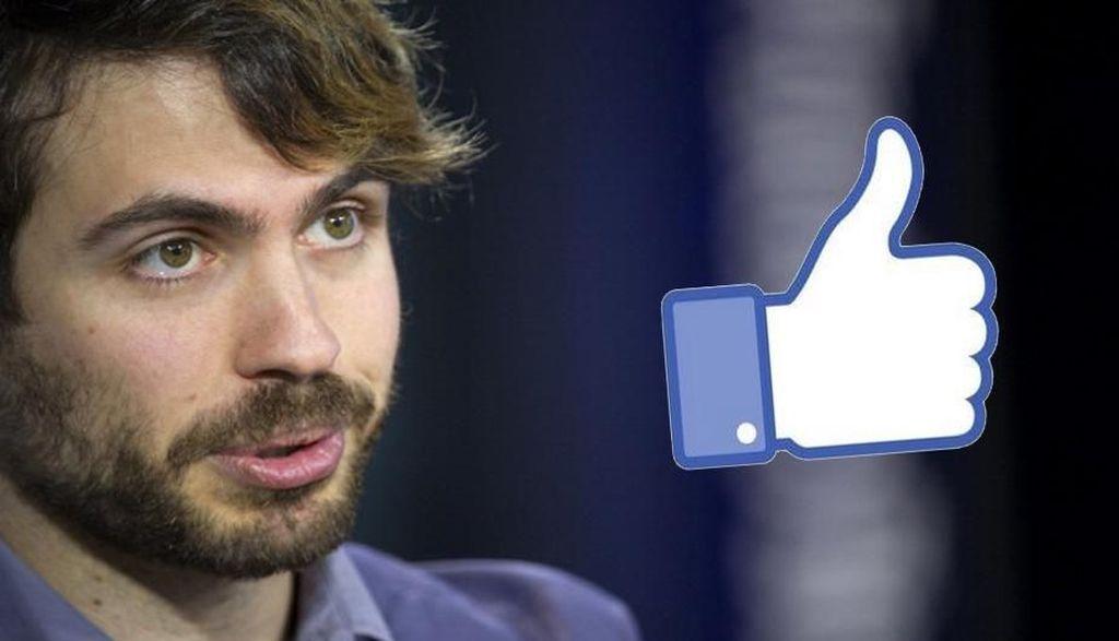 Justin Rosensetein menciptakan tombol Like tahun 2007, tapi ia sekarang khawatir akan dampak psikologis penggunaan jejaring sosial semacam Facebook. Maka pria berusia 34 tahun yang tahun 2009 mengundurkan diri dari Facebook itu coba meminimalisir penggunaan aplikasi, khususnya Facebook. Foto: The Verge