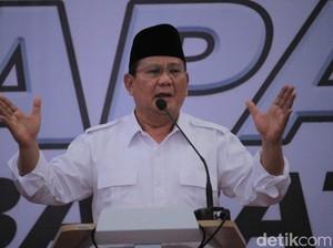 Prabowo: Ada Caleg Artis, Ahmad Dhani Masuk