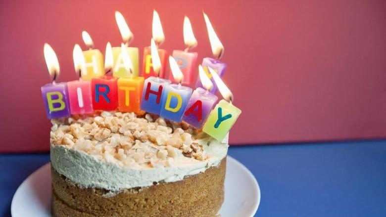 Ilustrasi ulang tahun/ Foto: thinkstock