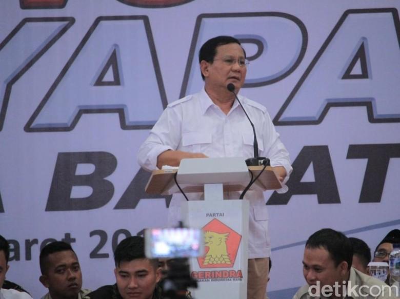 Ada yang Ragukan Prabowo, Fadli Zon: Peluang Menangnya Tinggi