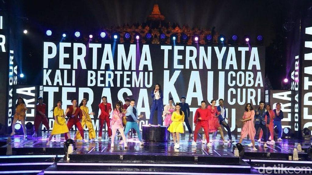 Serunya Drama Musikal Saat Vivo V9 Meluncur di Borobudur