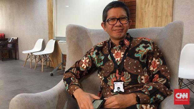 Ricky Pesik, Wakil Kepala Badan Ekonomi Kreatif.