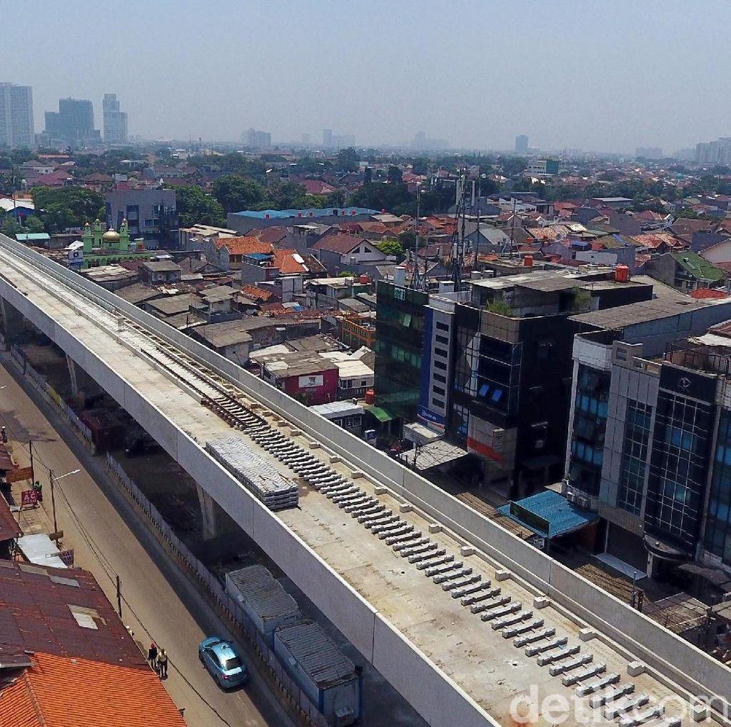 Investasi LRT Jakarta Fase II Diproyeksi Mencapai Rp 9,8 T