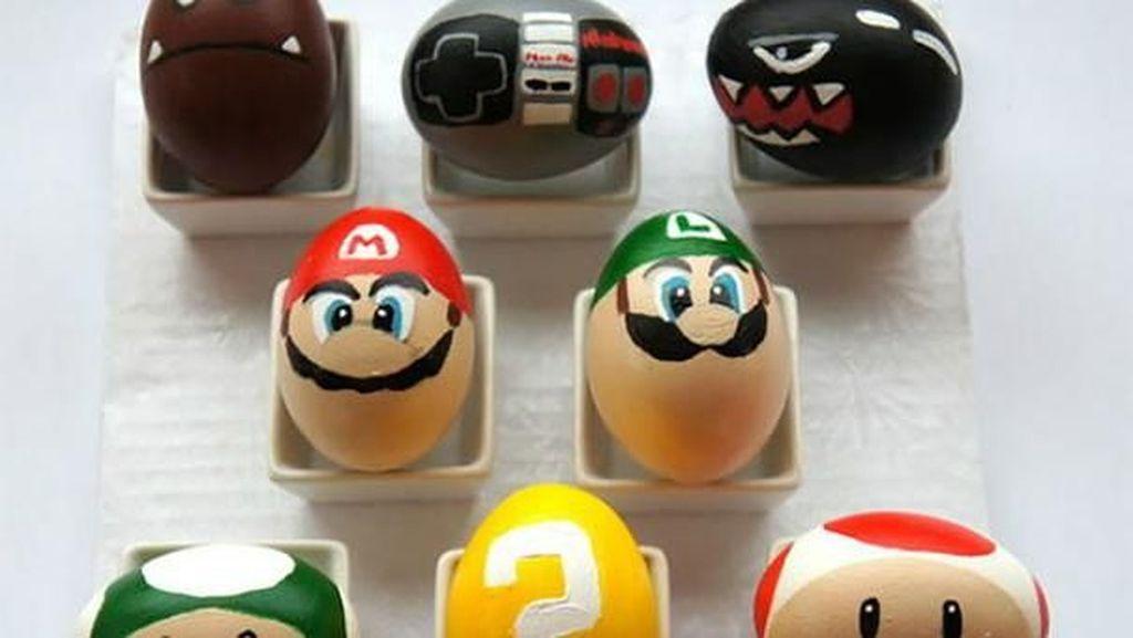 Potret Desain Telur Paskah yang Super Kreatif