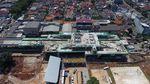 Mantap! Begini Potret LRT Jakarta Terkini dari Udara