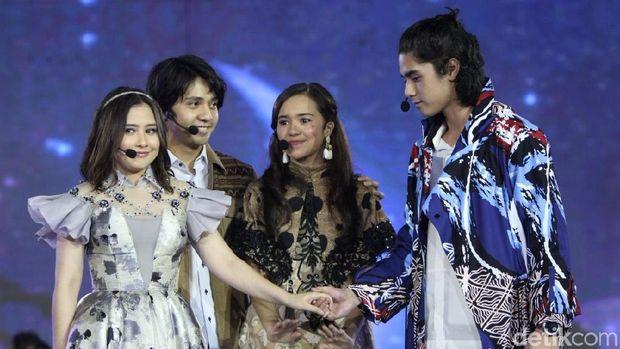 Salah satu adegan dalam drama musikal launching Vivo V9