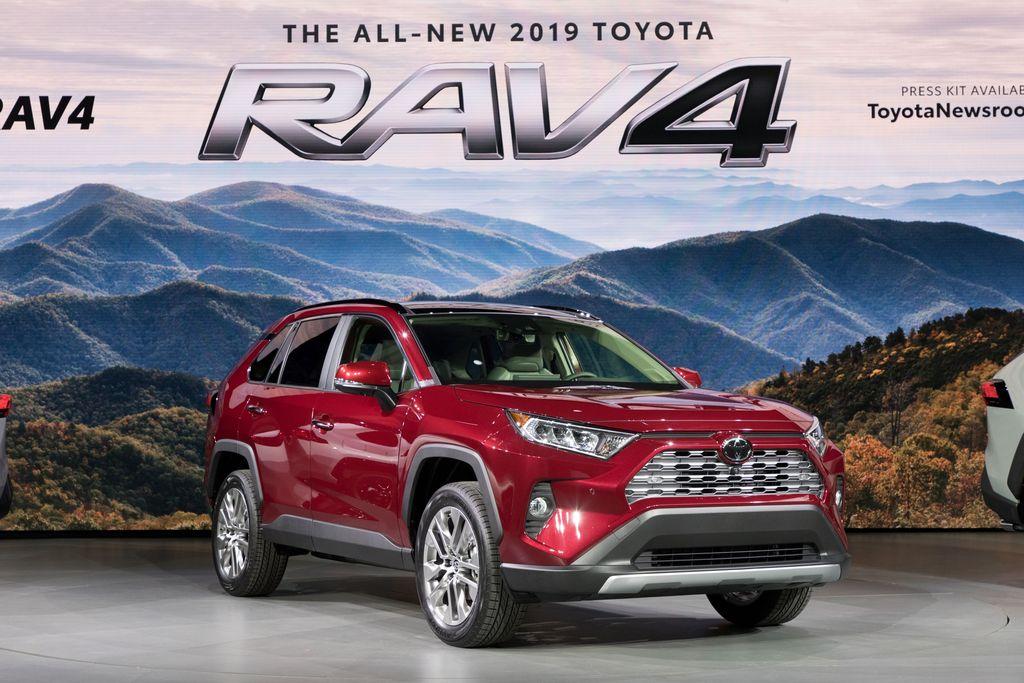 Toyota RAV4 Model 2019
