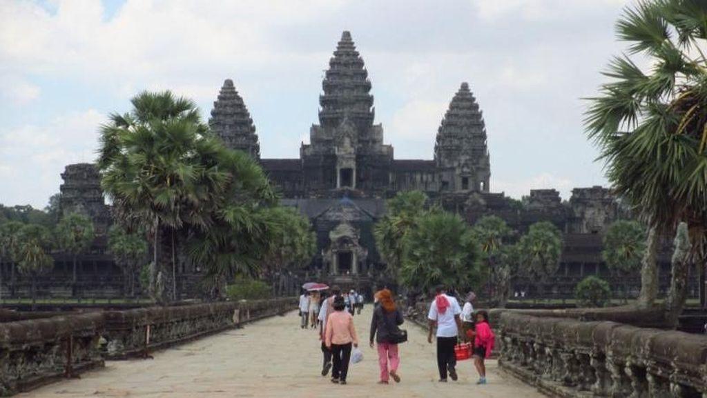 Angkor Wat, Miniatur Alam Semesta di Kamboja
