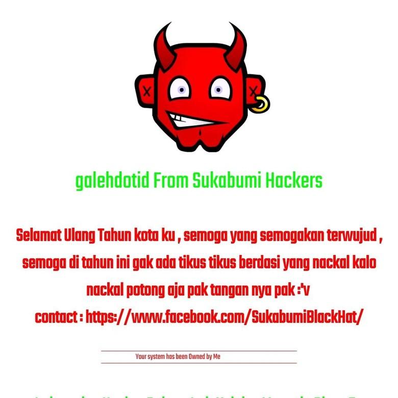Kena Hack, Tikus Berdasi Tampil di Website PN Sukabumi