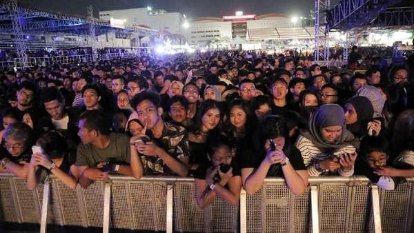 Begini Meriahnya Pesta Bersama The Chainsmokers di Jakarta