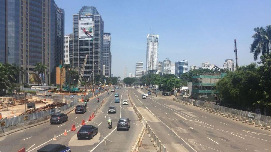 Nikmatnya Jakarta Lengang, Pasar Minggu-Senayan Cuma 10 Menit