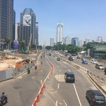 Jalanan Jakarta Lengang, Jangan Lengah Ya!