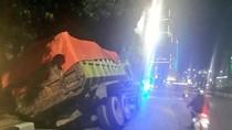 Truk Kecelakaan di Jalan Gatot Subroto Jakarta
