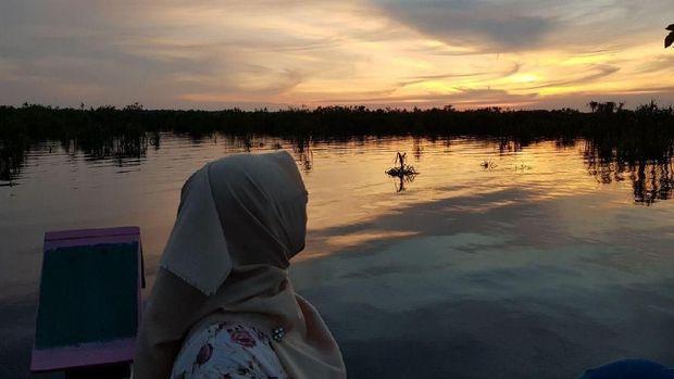 Palangka Raya Punya Spot Kekinian untuk Lihat Sunset