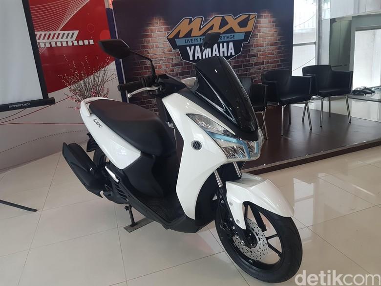 Yamaha Lexi (Foto: Rangga Rahadiansyah)
