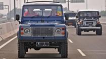 Berbagai Kendaraan Yang Ditumpangi Jokowi Saat Resmikan Tol
