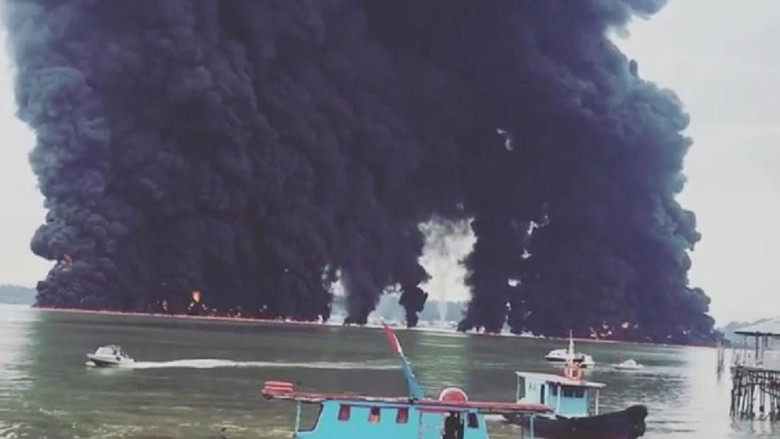ESDM: Pipa Pertamina di Teluk Balikpapan Putus Terseret Jangkar