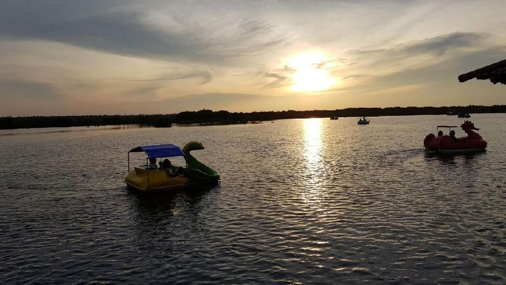 Foto: Long Weekend di Palangkaraya, Sunsetnya Juara!