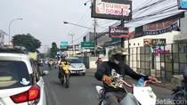 Dilintasi Ribuan Bikers Trail, Ujungberung Sempat Tersendat