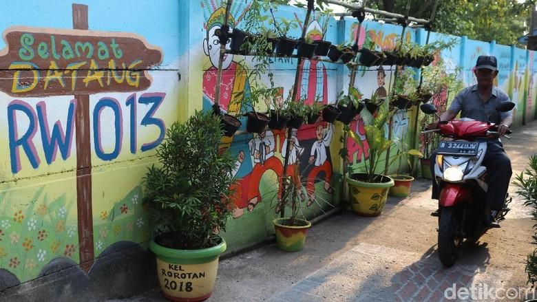 Mengintip Warna Warni Kampung Mural Di Rorotan