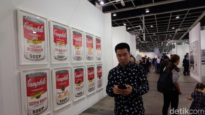 Gaet 80 Ribu Pengunjung, Art Basel Hong Kong ke-6 Sukses Digelar