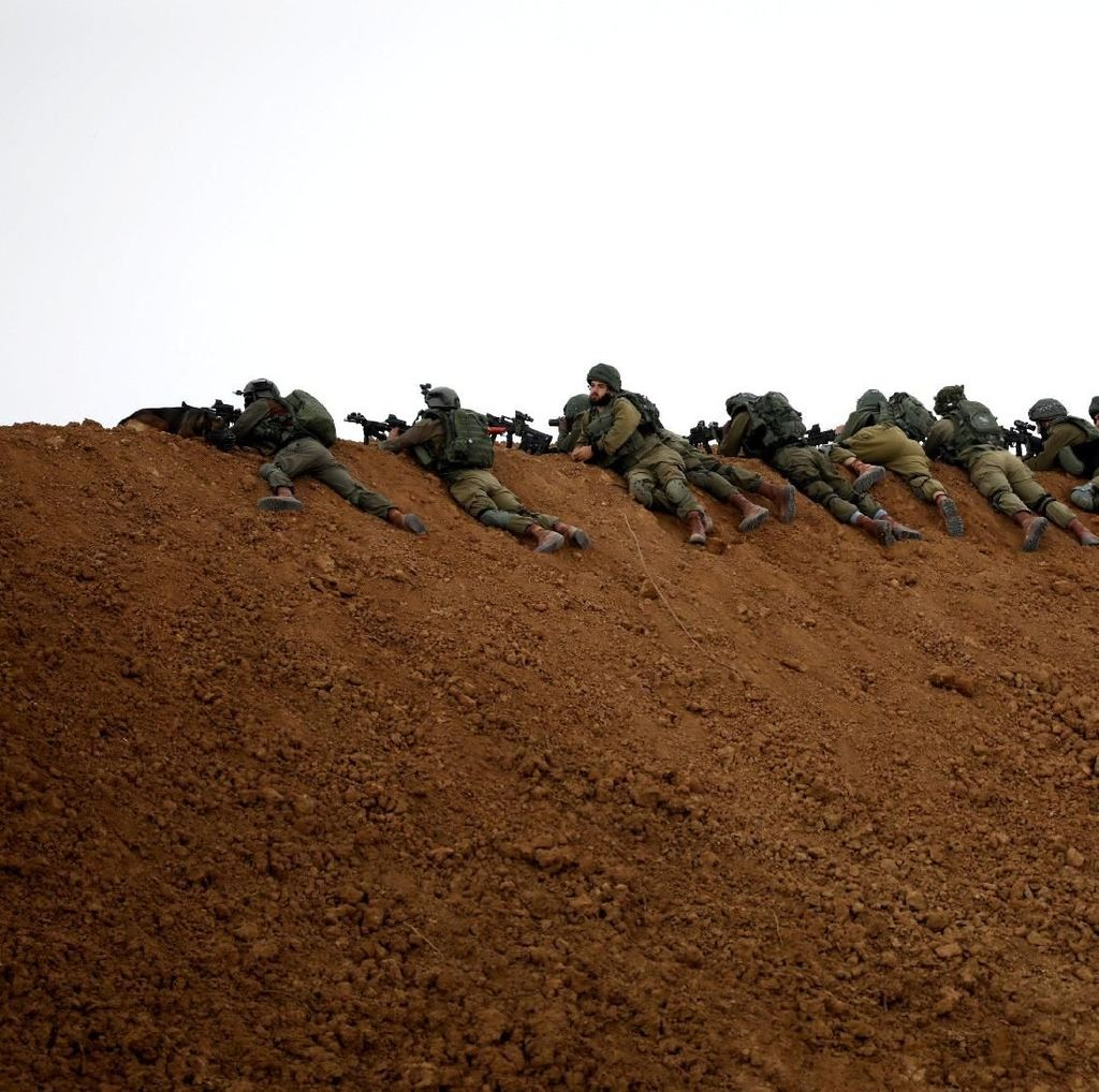 Tentara Israel Tembaki Demonstran Palestina di Gaza, 11 Orang Luka
