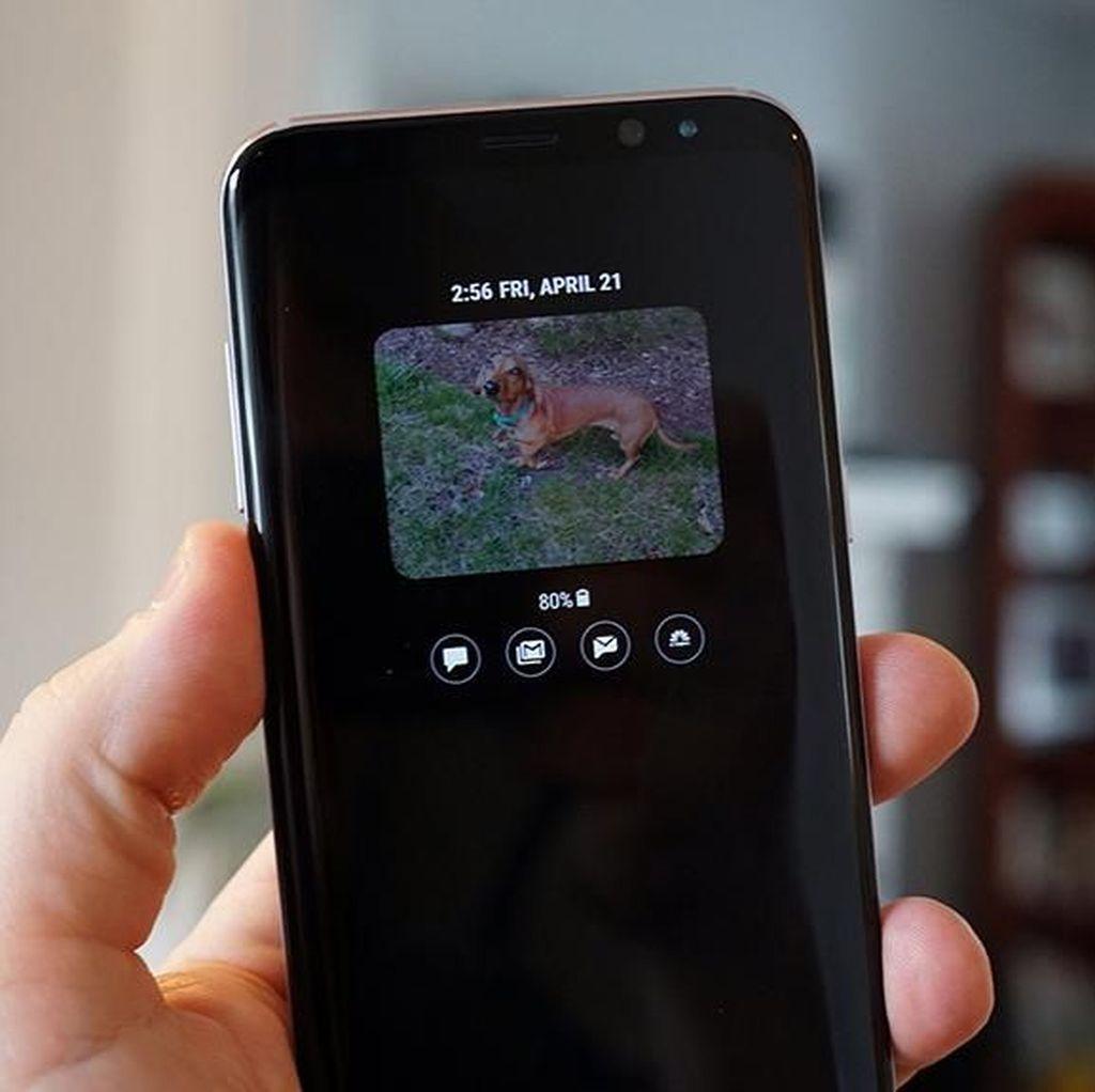 Cara Menampilkan Konten GIF di Always On Display Samsung