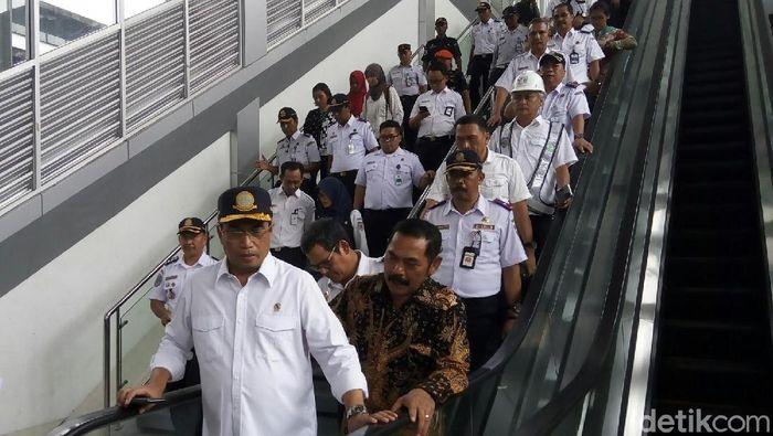 Menteri Perhubungan Budi Karya Sumadi (Foto: Bayu Ardi Isnanto/detikcom)