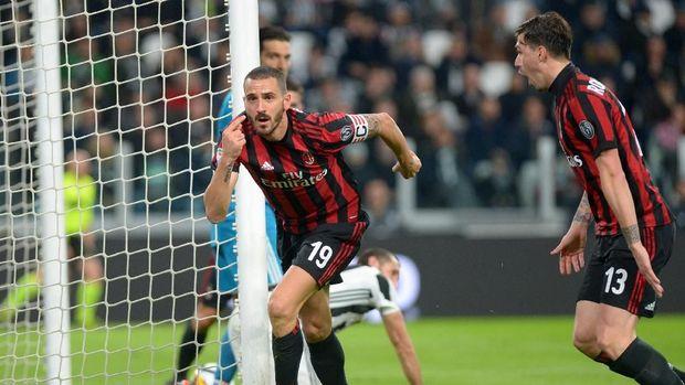 Leonardo Bonucci baru bermain selama satu musim bersama Milan.