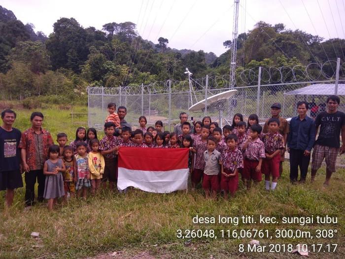 BTS Indosat Ooredoo di wilayah pelosok. Foto: Dok. Indosat Ooredoo