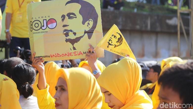 Gojo Bentukan Golkar Siap Menangkan Jokowi di Seluruh Indonesia