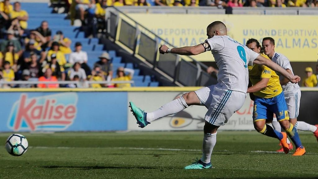 Benzema Cetak Gol Usai Tolak Permintaan Bale
