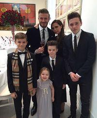 Keluarga David dan Victoria Beckham.
