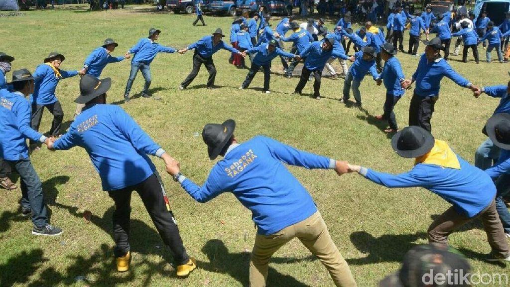 Ratusan Relawan Ikut Latihan Penanggulangan Bencana di Kebumen