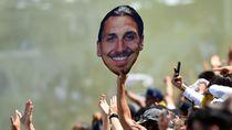 Gol Debut 36 Meter Ibrahimovic Jadi yang Terbaik di MLS
