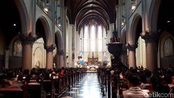 Idul Adha, Misa Pagi Gereja Katedral Dimundurkan 3 Jam